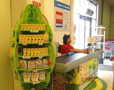 В Мережі «ЕКО маркет» з'явились «дитячі» каси